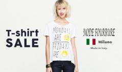 T-shirt SALE by MODE FOURRURE(モードフルーレ)のセールをチェック